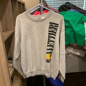 VTG Nike Nick Bollettieri Tennis Grey Sweatshirt